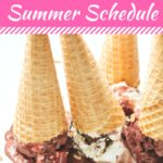 Simple Summer Activity Schedule for Little Kids