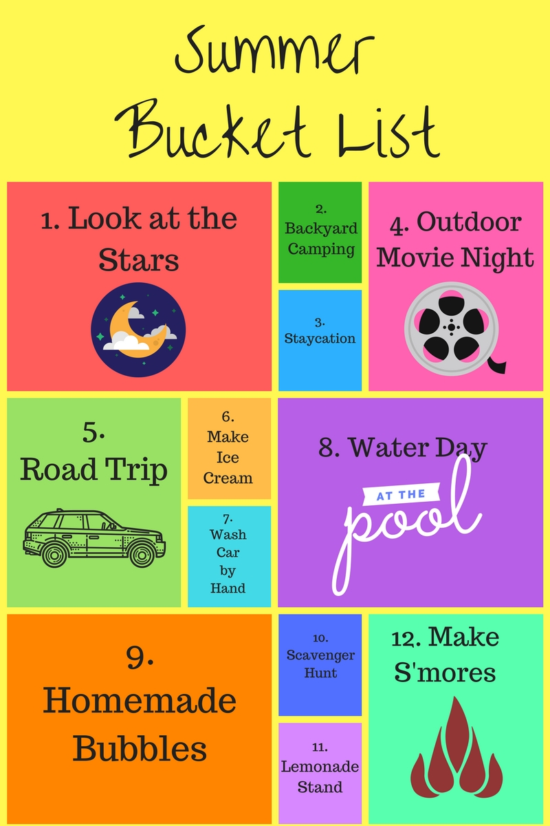 summer bucket list for families mommy wants coffee